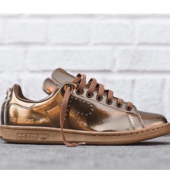 X Stan Smith Metallic Gold Us6eur 385